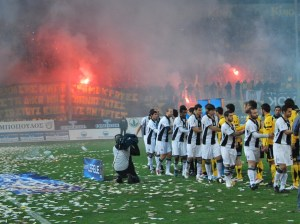 Football is Life 4 - Pictorial Tribute - Aris v PAOK